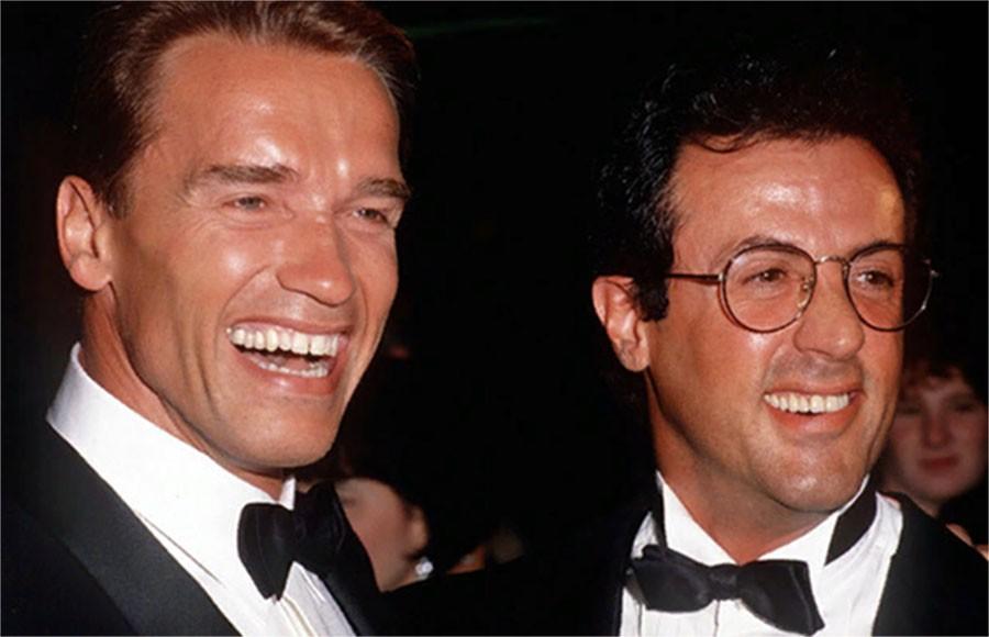 Арни и Слай. А была ли война между двумя легендами боевиков 80-х Шварценеггер,Сталлоне,Знаменитости