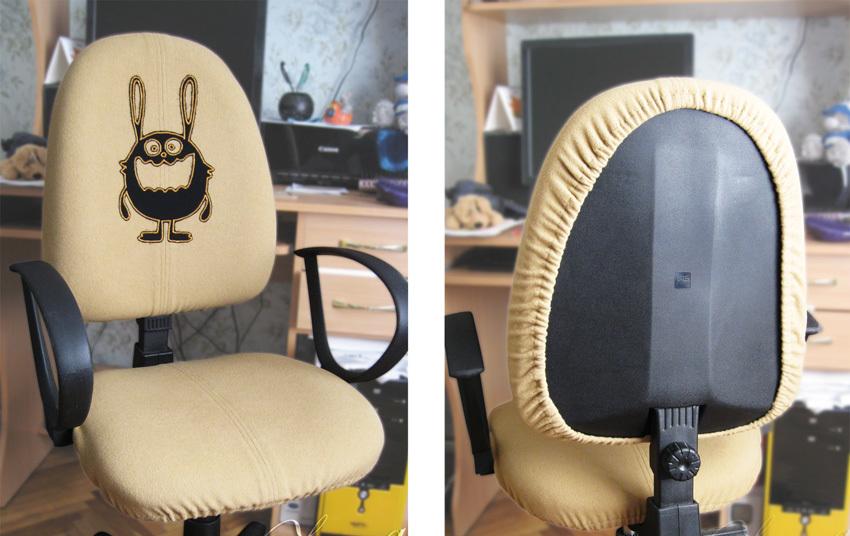 Чехол на компьютерное кресло своими руками: интересные идеи с фото, выкройки и порядок выполнения работы Рукоделие