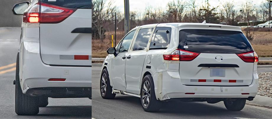 Минивэн Toyota Sienna извлечёт пользу из архитектуры TNGA авто,мото,техника, Авто и мото