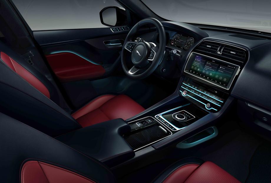 Кроссовер Jaguar F-Pace получил два специальных издания авто,мото,техника, Авто и мото