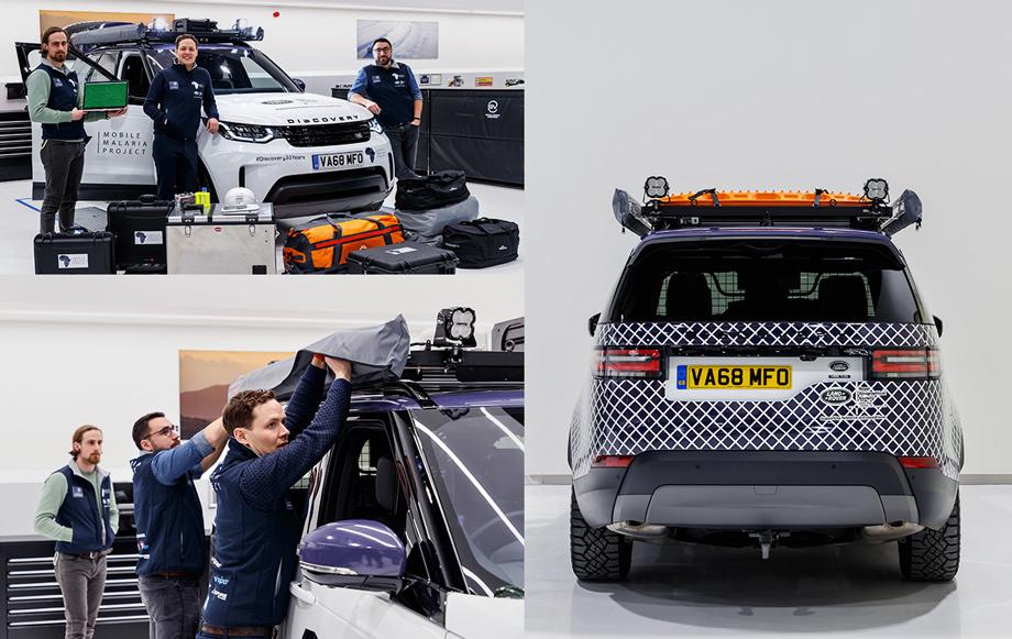 Отделение SVO снарядило Land Rover Discovery в Африку авто,мото,техника, Авто и мото