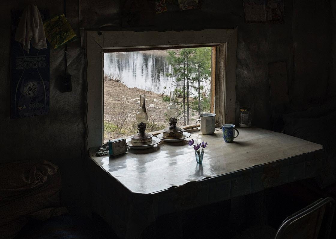 Жизнь далекого таежного поселка Россия