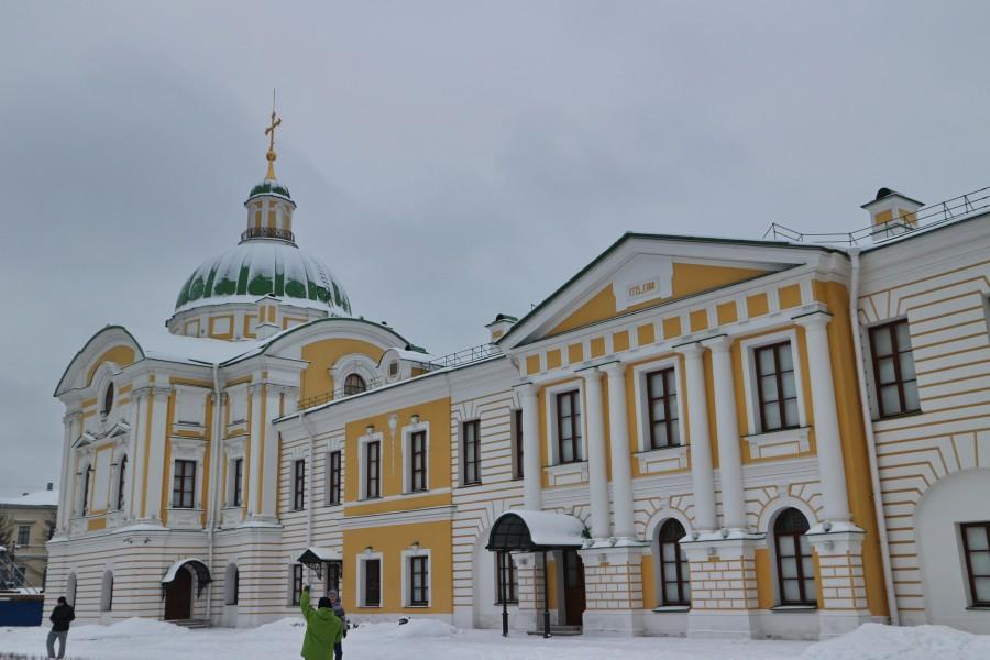 Тверь. Путевой дворец, он же картинная галерея. музей