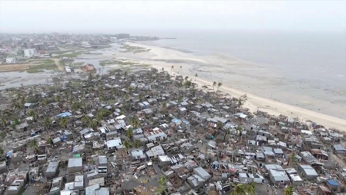 Смертоносный циклон в Мозамбике МиР