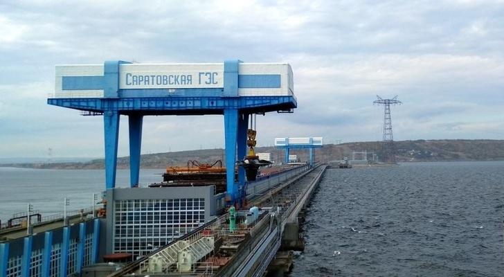 На Саратовской ГЭС заменена турбина гидроагрегата номер 9 события, Новости