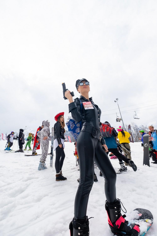 Фестиваль BoogelWoogel собрал в Сочи 25 тысяч лыжников и сноубордистов МиР