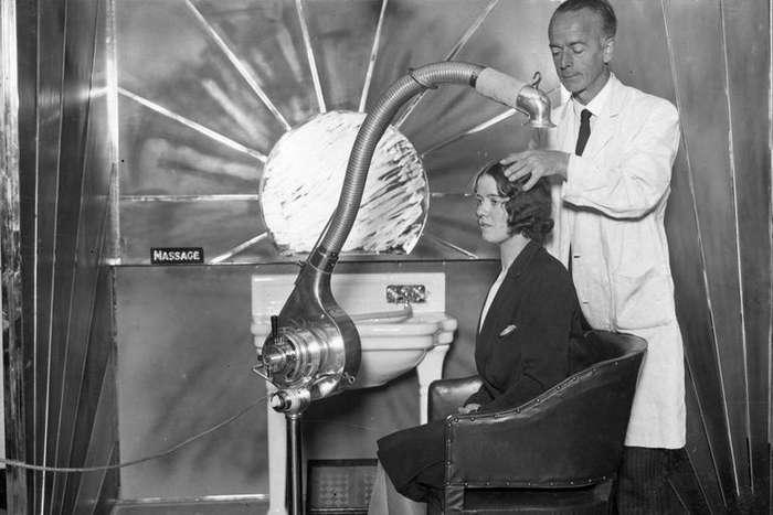 Удивительное прошлое: винтажные сушилки для волос, которыми пользовались дамы 20-х, 30-х и 40-х годов прошлого века Интересное