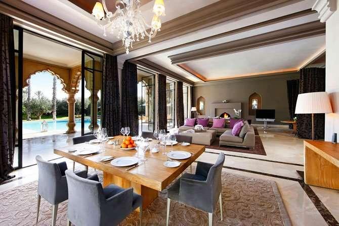 Экстравагантный отель Palais Namaskar в Марракеше Интересное