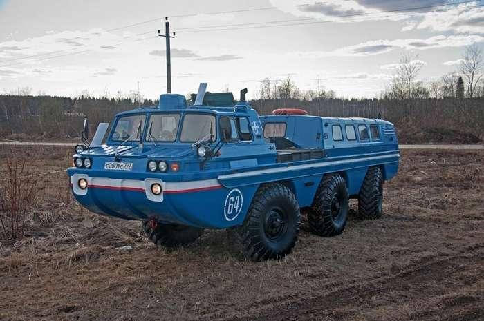 Мы в воде ледяной не плачем: ЗИЛ-49061 «Синяя Птица» авто