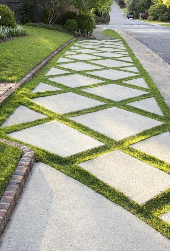 20 фантастических идей садовых дорожек идеи для дачи
