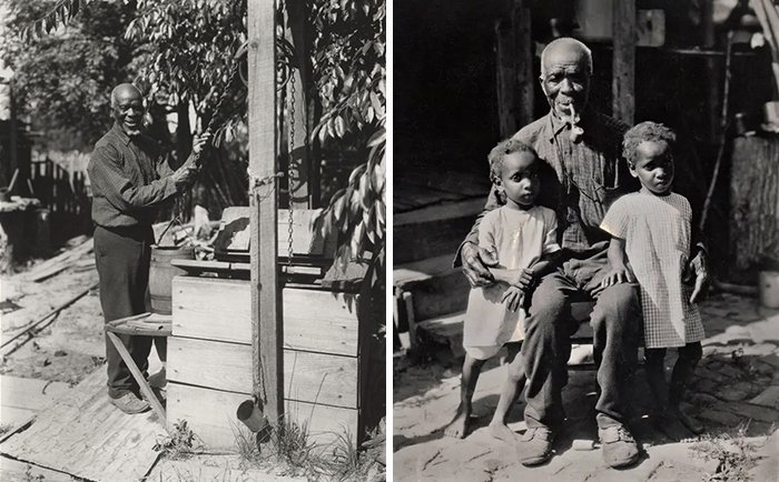 Интервью последнего выжившего африканского раба в 1930 году