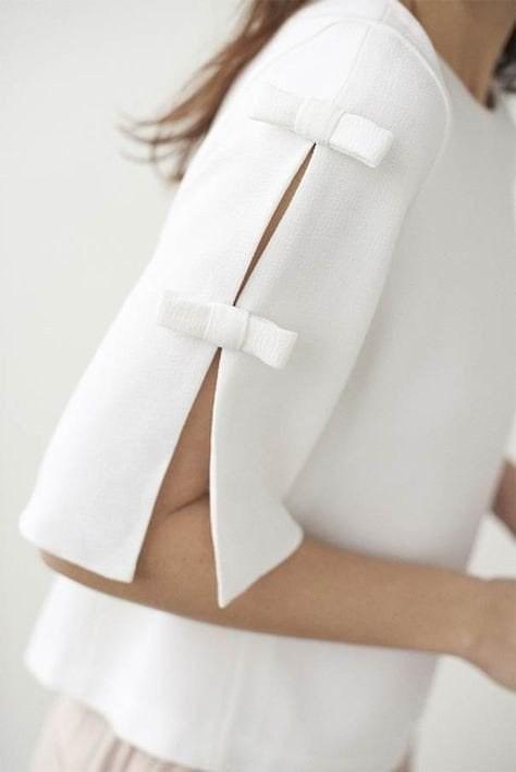 Необычный рукав — эффектная «изюминка» стильного образа детали в одежде