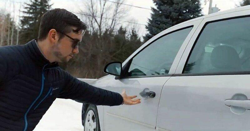 Парень снял идеальный рекламный ролик для продажи своего подержанного автомобиля видео