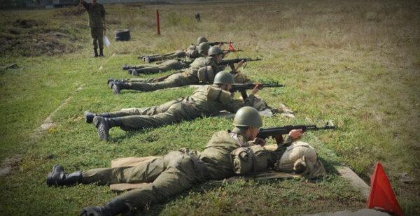 Российский солдат показал иностранцу как надо стрелять и получил 10 суток отпуска новости,события