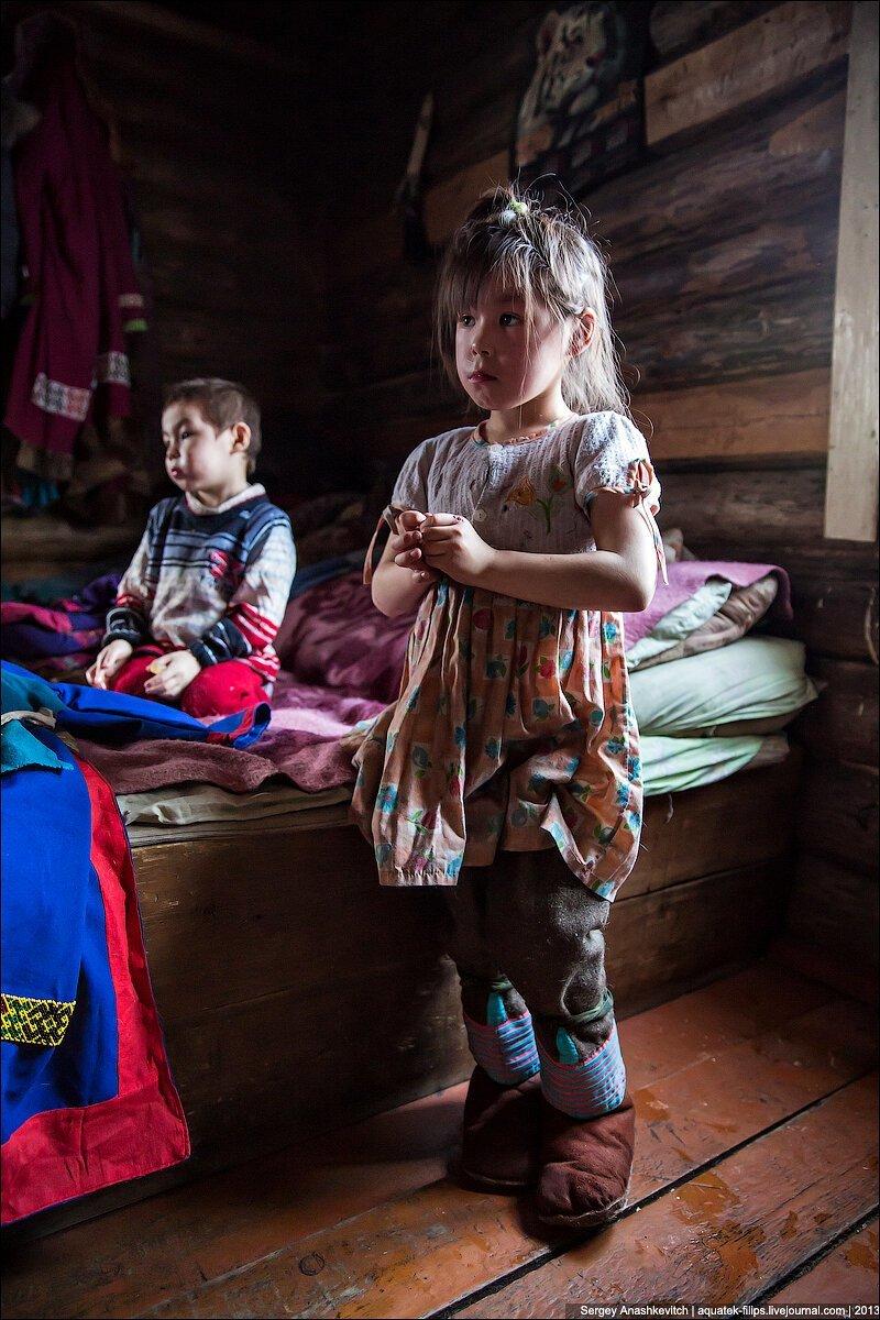 Таежные дети