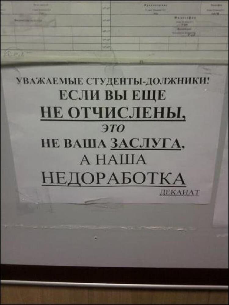 10+ смешных объявлений, которые можно встретить только в России