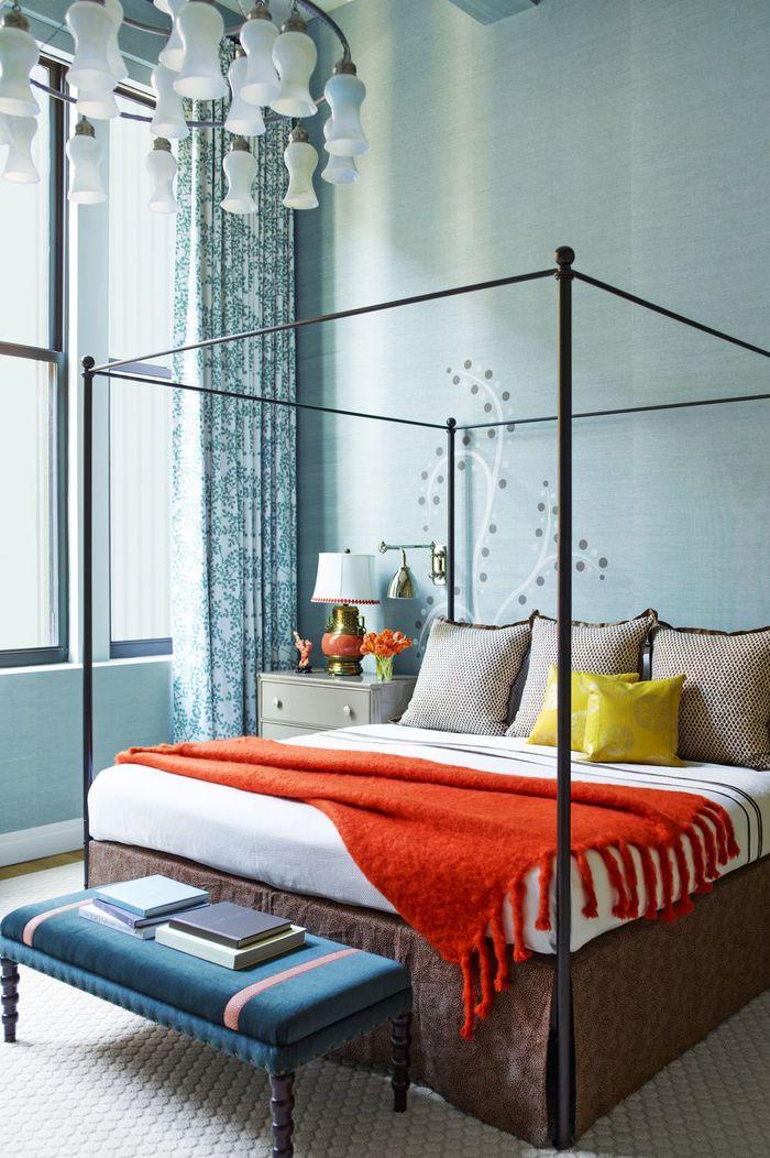 Спальня с обложки: 7 простых идей, как красиво застелить кровать декор